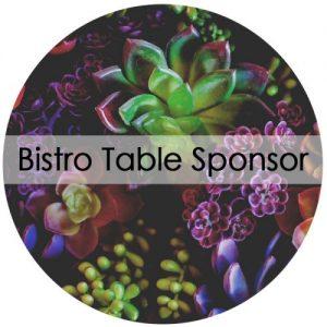Bistro Table Sponsor